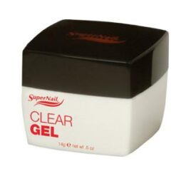 Supernail Clear UV Buff Off Gel Use over tips or natural nails for unsurpassable strength and quick repairs.